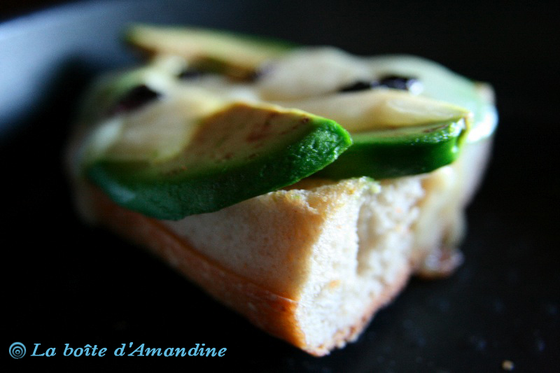 photo de Bruschetta Avocat Mozzarella