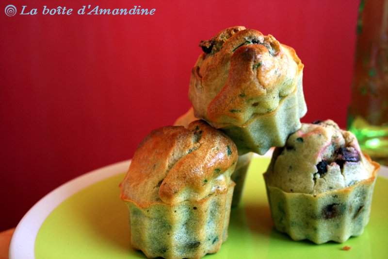 photo de Muffins betterave menthe