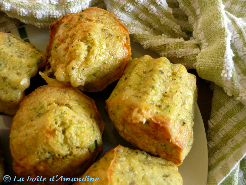 photo de Muffins courgette chèvre