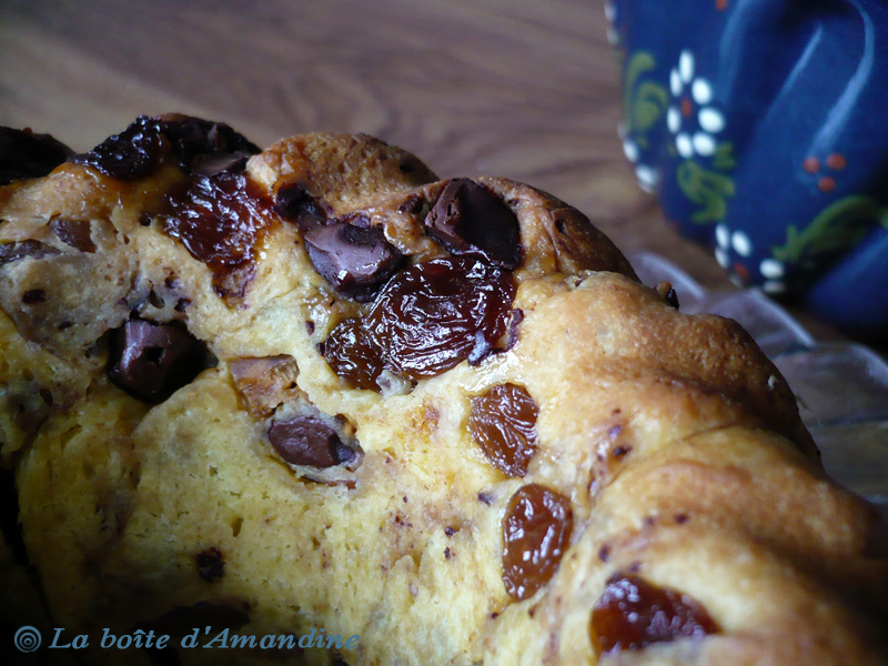 photo de Panettone choco-figues