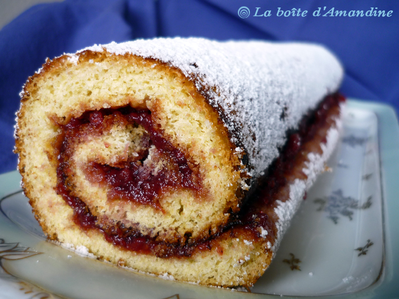 photo de Gâteau roulé à la confiture