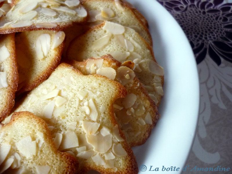 photo de Tuiles aux amandes