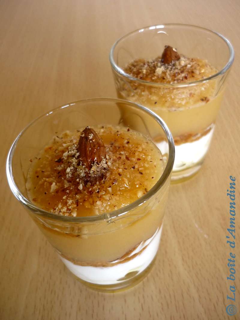 photo de Verrines pommes speculoos